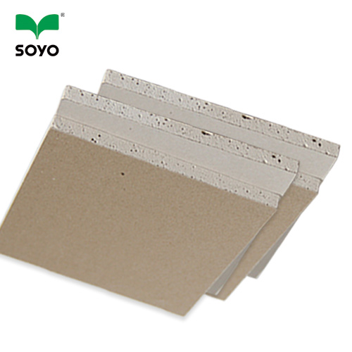 Popular Brown Professional Gypsum Board Qualified Gypsum Board