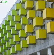 Phenolic compact laminate exterior wall board