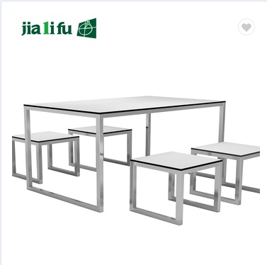 JIALIFU HPL outdoor party table and chairs for