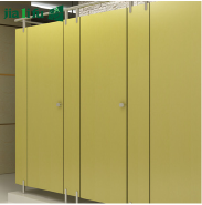 Cheap hpl toilet cubicle partition system