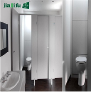 PVC door handle compact laminate sheet toilet partition