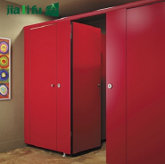 Commercial toilet partition board accordion folding doors hpl sheet