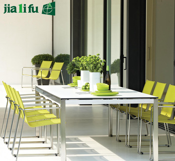JIALIFU guangzhou factory direct sale diy dining table and chairs United Kingdom design