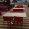 Jialifu phenolic square modern dining table designer