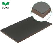melamine mdf/black melamine laminated mdf /melamine mdf board price