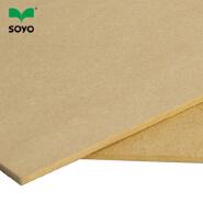 gray melamine mdf board,mesa mdf,new design slatwall mdf