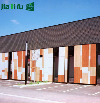 Jialifu compact laminate panel wall cladding / wall claddings / wall cladding materials