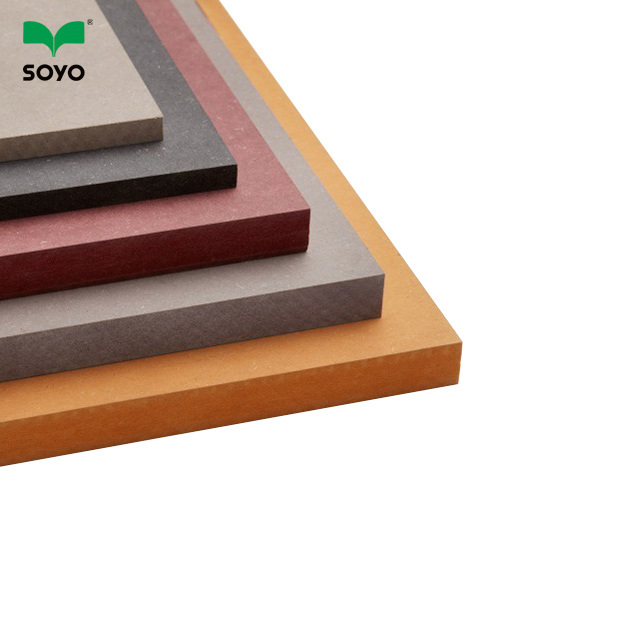 china supplier double side melamine mdf board with cheap price