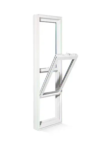 PVC/UPVC Sliding Hung Window, with High Quality, Competitive Price