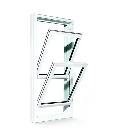PVC/UPVC Sliding Hung Window, High Quality, Competitive Price
