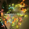 USB butterfly copper wire string lights for home decoration