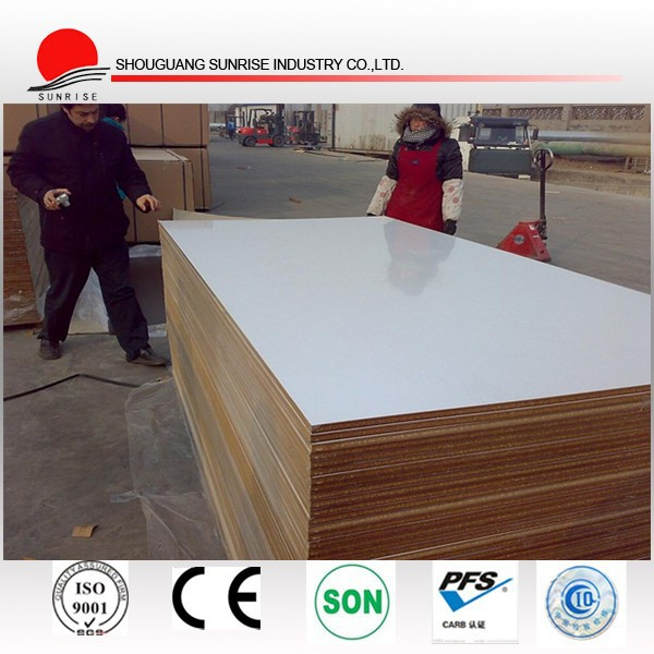 supply 4X8ft 2-30mm plain and laminated MDF board