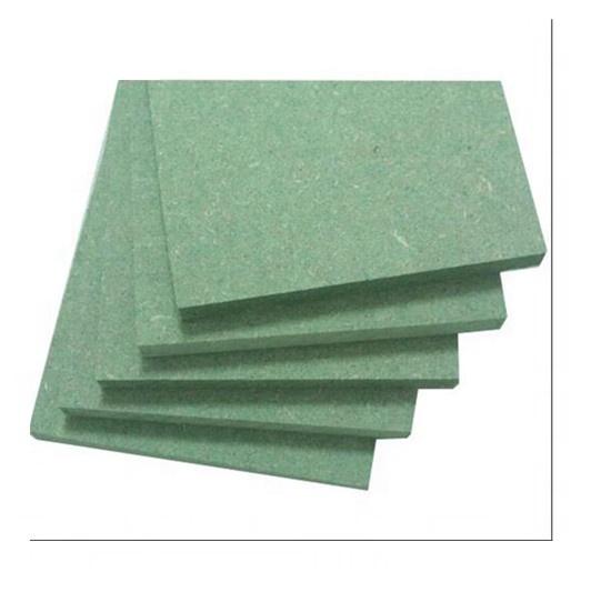 moisture proof waterproof green mdf indoor use