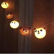 Factory Cheap Wholesale Party Lantern Teddy Bear light string