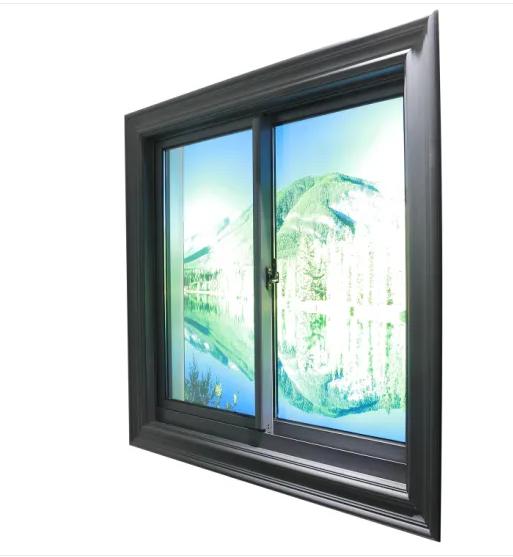 Insulated Aluminum / Aluminium Casement Window with Blinds Inside