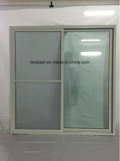 Aluminum/Aluminium Sliding Door, High Quality, Competitive Price with Security Screen