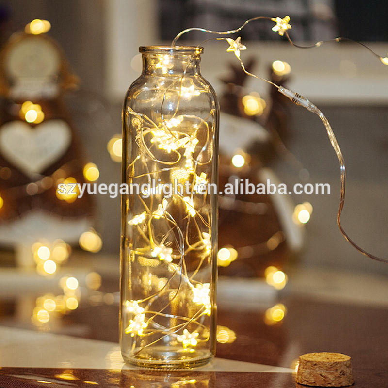 Led copper wire string light waterproof USB christmas decoration light