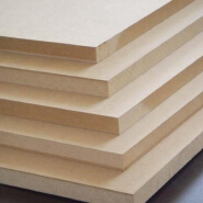 1525*2440*3mm Germany producing line Plain/Raw MDF board E1 grade