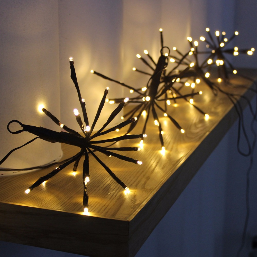 Handmade LED Fireworks Light string lights for house decoration