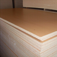 best price melamine faced particle board/chipboard from Shandong China