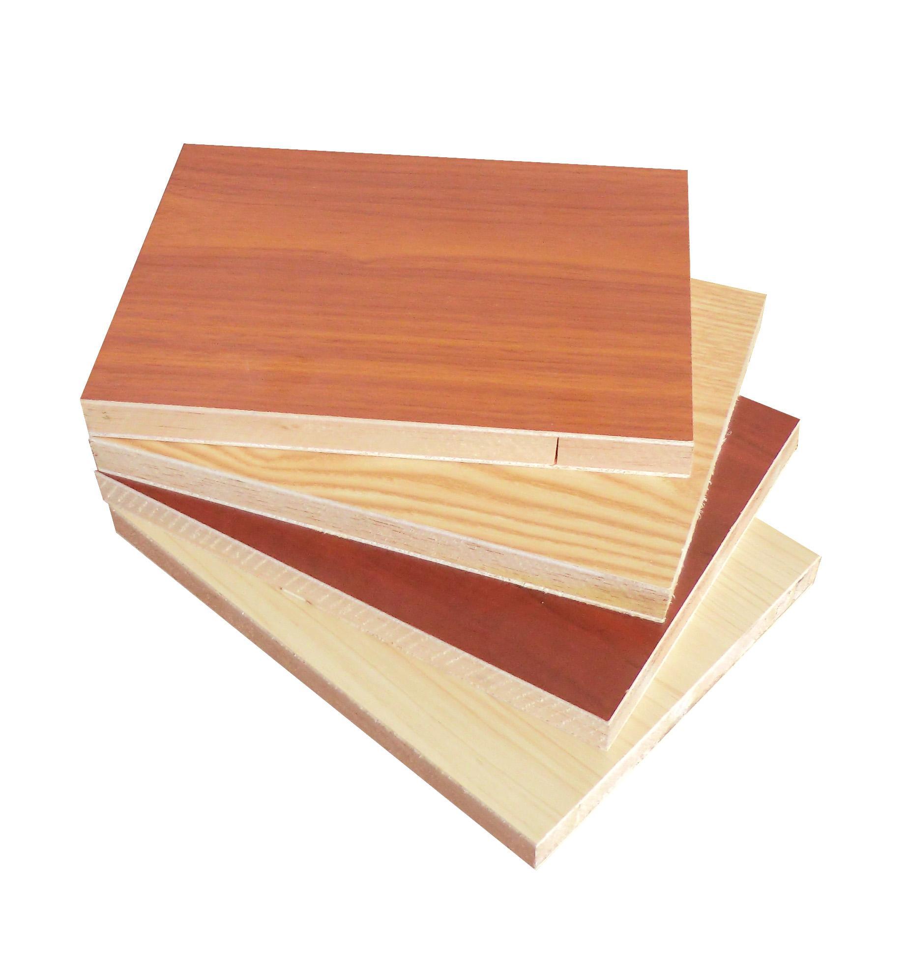 melamine faced block board plywood kitchen cabinet