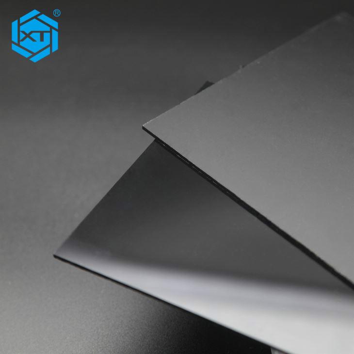 XINTAO Day Night Acrylic Sheet Black and White Plexiglass