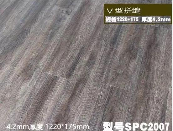 Spc Click PVC Vinyl Plank Flooring Tile