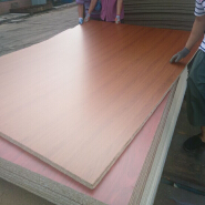 cheap price 8mm raw and melamine particle board
