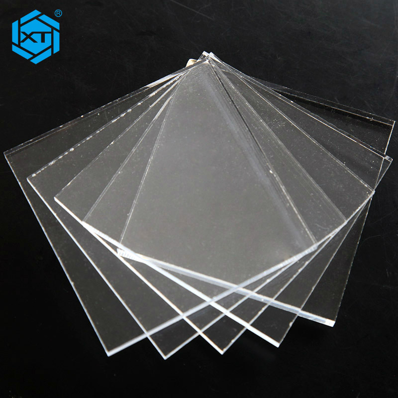XINTAO 14mm Clear Acrylic Sheet Tinted Acrylic Resin Casting