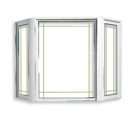 PVC/UPVC Bay Windows, High Quality, Competitive Price