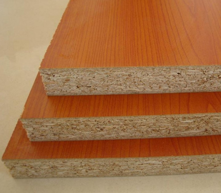 good quality wood grain color melamine laminated particle board