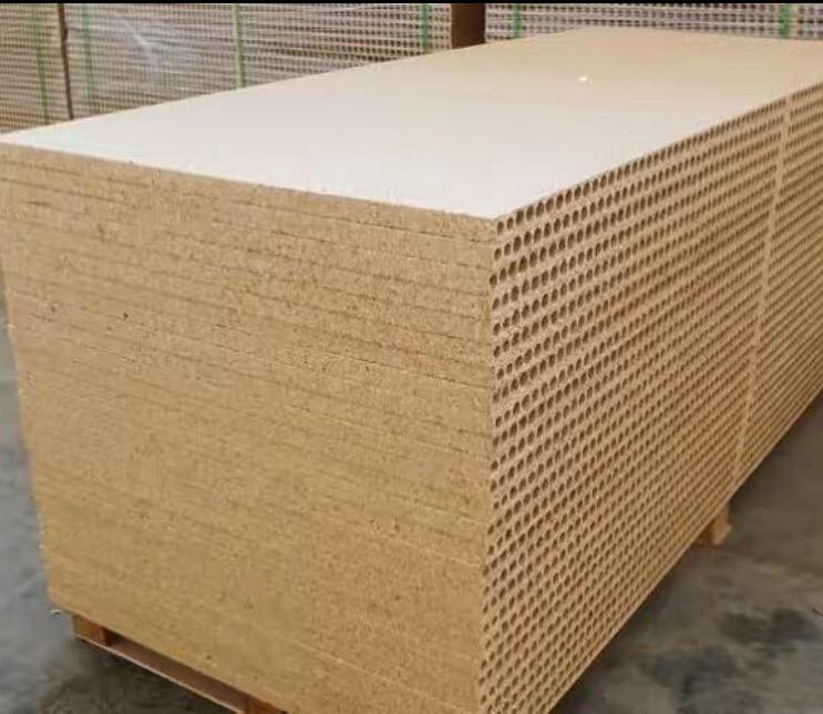 28mm hollow core particle board/tubular chipboard door core for interior door use