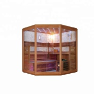 Low price bathroom bath portable luxurious sauna dry steam room