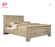 modern melamine wood pallet double bed designs