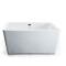 SM6516 Square free standing soaking shower tub acrylic massage whirlpool bathtub