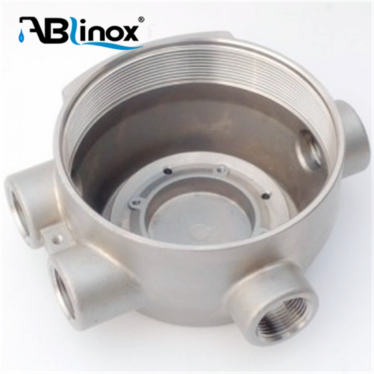 customized stainless steel pumping parts lost wax casting pump