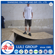 laminated osb board price/good quality osb panel from LULI GROUP