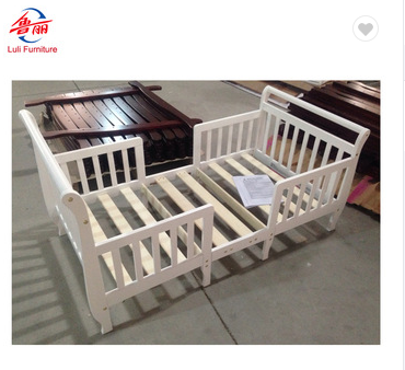 wooden furniture single kids toddler bed