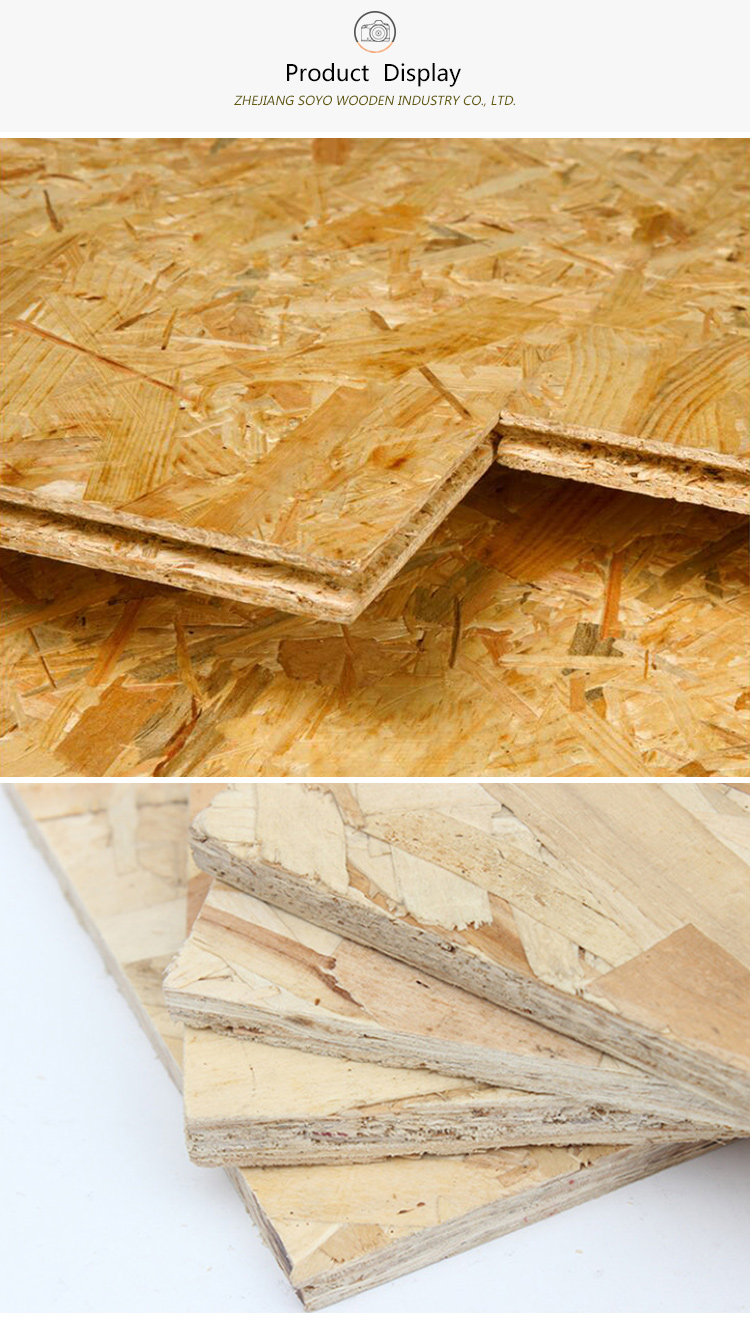 9/12/18mm Fire Rated OSB insulated structural office partition panel