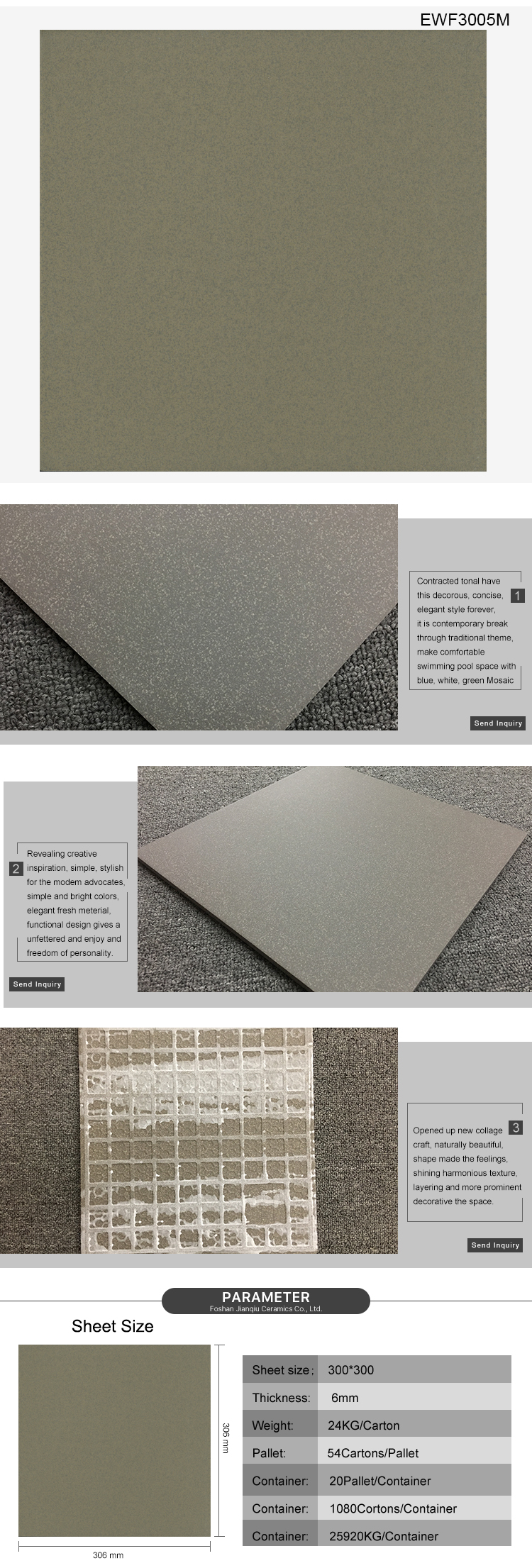 China supplier new product building material bathroom granite stairs design cement tile tactile tiles