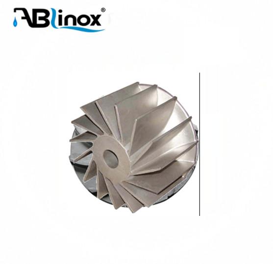 EM manufacturer for Kindss of Stainless Steel Casting Water Pump Impeller
