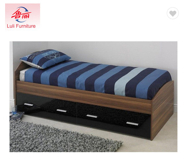 modern bedroom wooden children bed sets