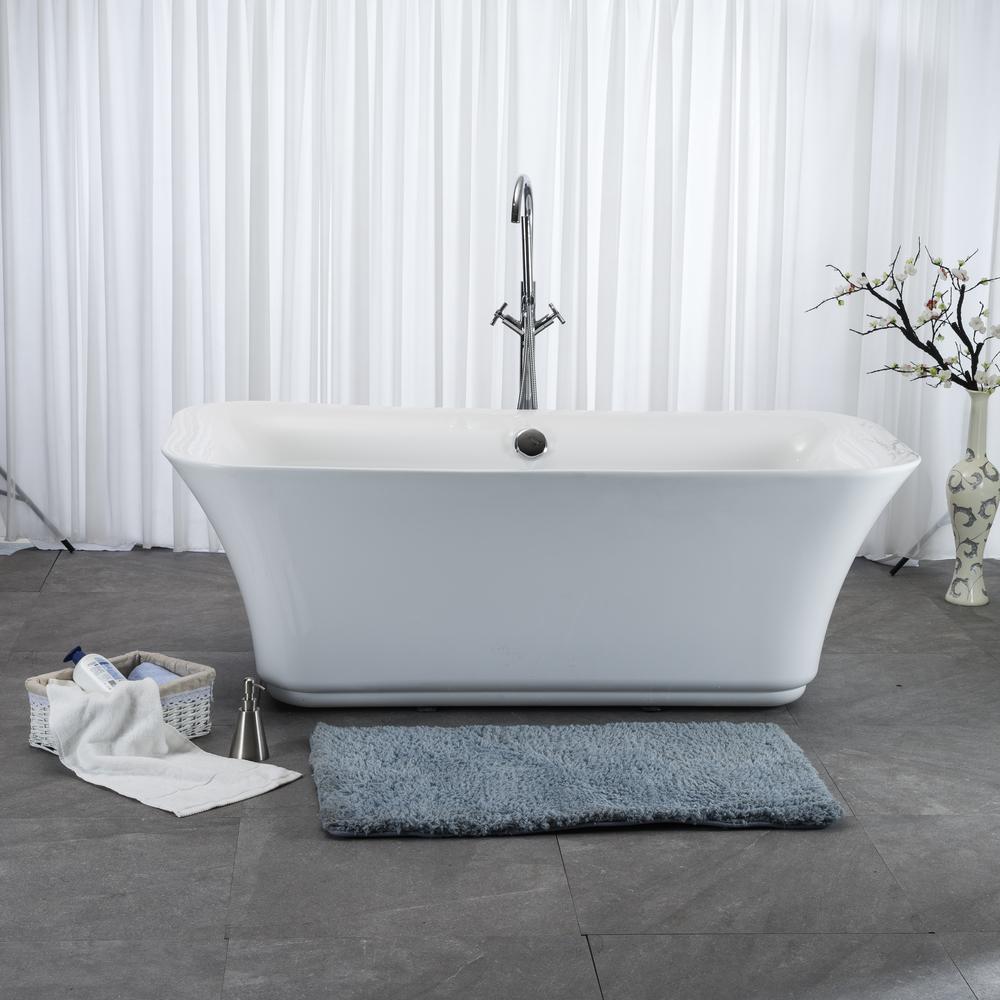 SM6201C Wholesale Market Designer style bathroom stand Fiberglass Adult Whirlpool Acrylic bath tub