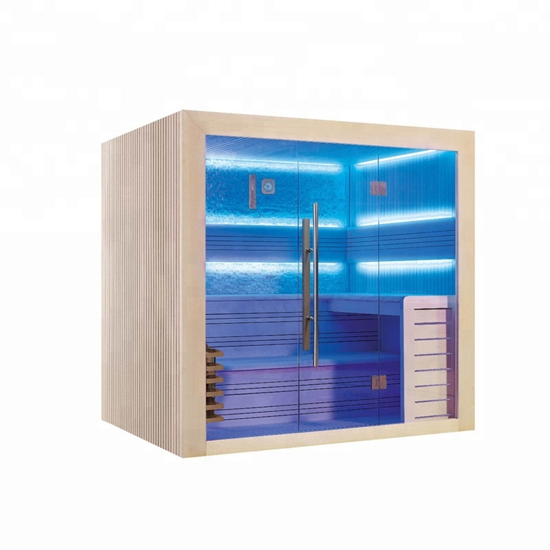 Super luxury Indoor house traditional style dry steam sauna room