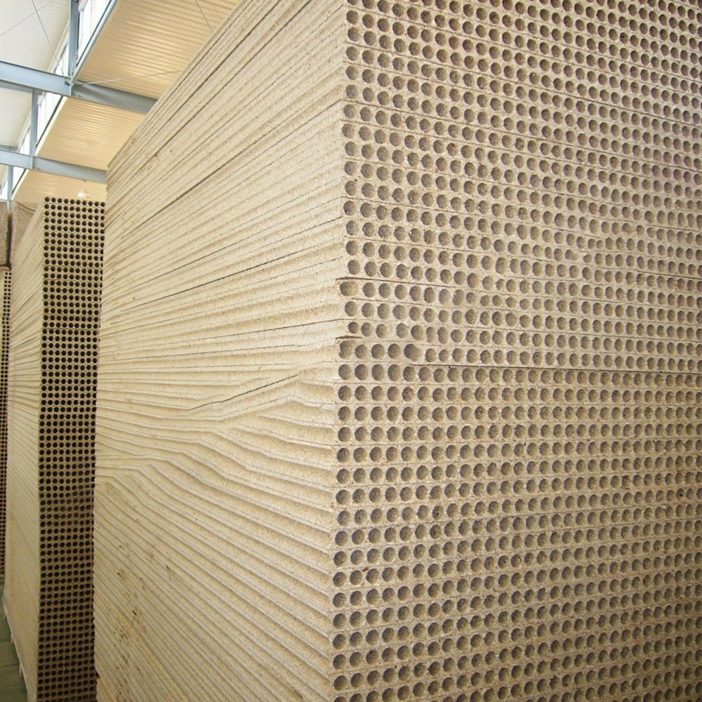 hollow core chipboard/tubular particle board for door core