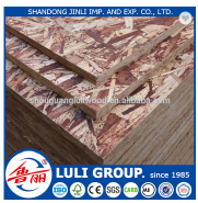 LULI GROUP waterproof OSB3 board with phenolic gule for construction