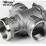 Stainless steel centrifugal pump parts investment casting fittings