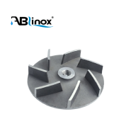 Hot sale customized stainless steel investment casting part pump impeller