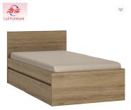 simple modern design wooden bed set pictures