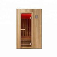 Far Infrared luxury Red cedar heating boards sauna dry steam room